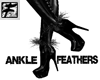 ~F~BW Wisp Ankle Feather