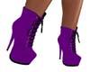 Purple Lace Boots
