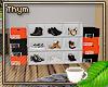 His/Hers Shoe Storage