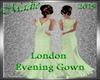!a London Gown Pale Gr
