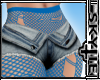 Shorts Blue Net (RXL