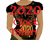 2020 Female Clock Tee