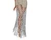 wedding lace skirt