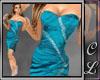 Linny Dress Aqua