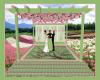 Garden Wedding Stage