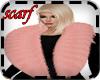 KPR::PinkWinterFurScarf