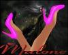 (1M) Pink Sparkle Shoes