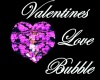 Valentine Love Bubble