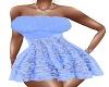BLUE  SUMMER DRESS RLL
