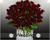 Burgandy Wedding Roses
