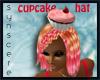 *S Cupcake Hat