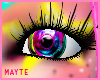 rainbow colores eyes