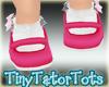Kids Monkey Shoes Pink