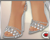 *SC-Whte Sparkle Heels