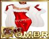 QMBR White Fur Shawl