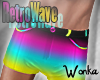 W° Retro Wave Shorts