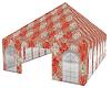 floral tent