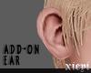 . realistic ear