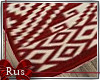 Rus: Xmas wrinkled rug