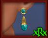 Vintage Trquois Earrings