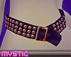 Purple/Rose Gold Belt