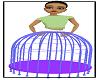 Caged Skirt