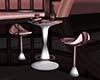 Blush bar table