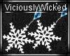 Winter Snowflake Earring