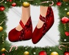 AS* NELY SHOES RED KID