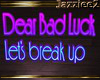 J2 Bad Luck Lets Breakup