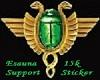 Esa 15k Support Sticker