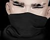 black masked scarf