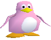 Pink Tux Penguin