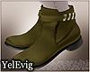 [Y] Hernan green boots M