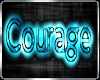 !Courage Sticker