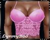 *Jacinta Pink Lace Top