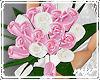 !Bridesmaid roses pinkwt