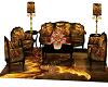 Golden Dragon Sofa