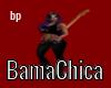 [bp] BamaChica Bass Stkr
