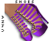 V4NY|Rope Shoes Purple