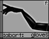 :a: Black PVC Gloves v2