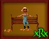 Halloween Scarecro Bench