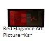 Red Elagance Wall Art