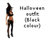 Halloween outfit (black)