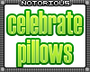 Celebrate Pillow Set