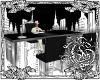 {G}Black & Silver Desk