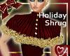 .a Burgundy HolidayShrug