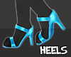 S  Paw Heels Blue