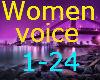 Female voices