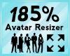 Avatar Scaler 185%